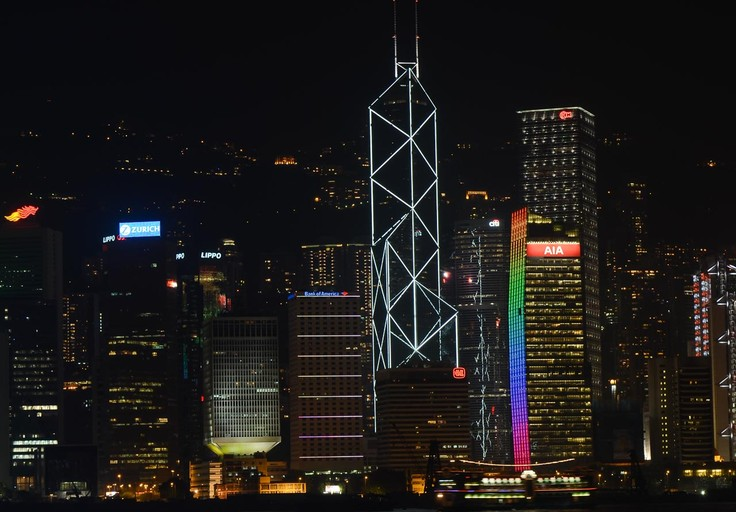 Bank of China Tower, Hong Kong Island, Tsim Sha Tsui